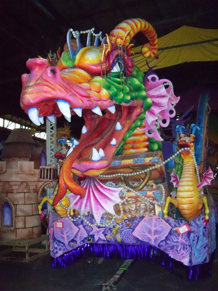 mardi float